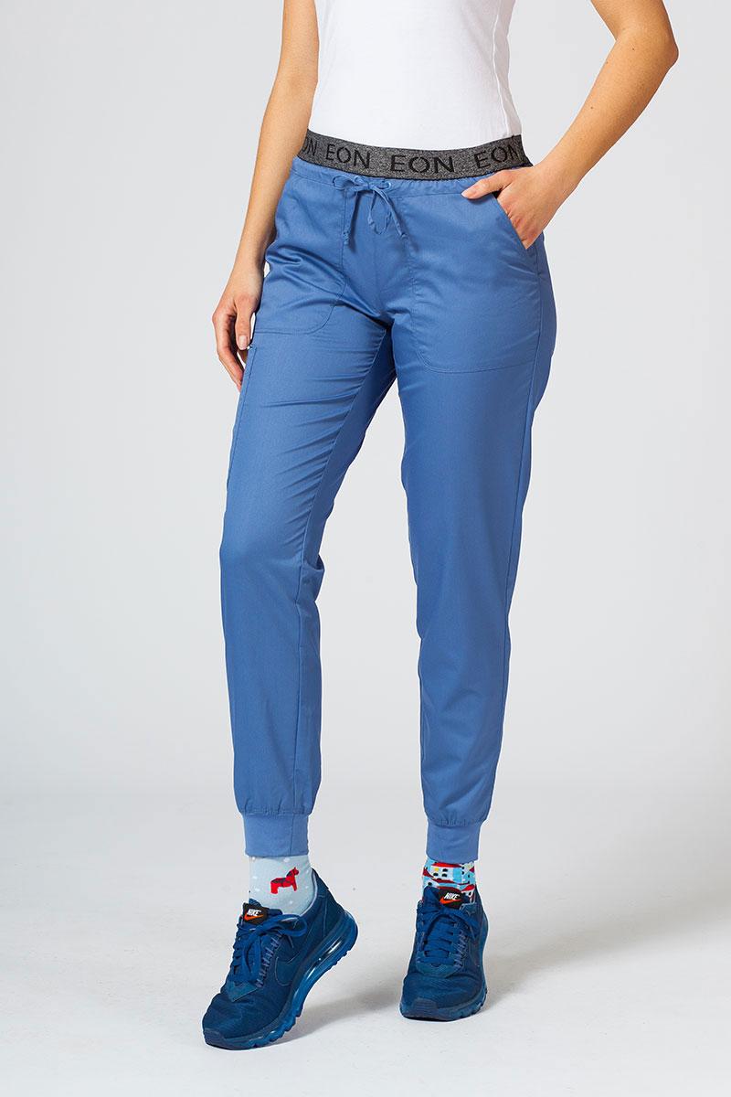 Spodnie damskie Maevn EON Sporty & Comfy jogger niebieskie
