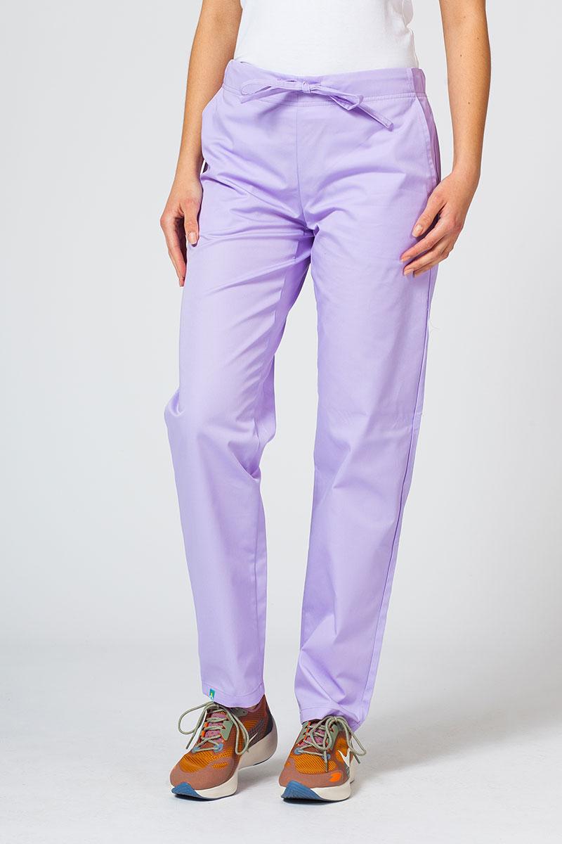 Spodnie medyczne uniwersalne Sunrise Uniforms lawendowe