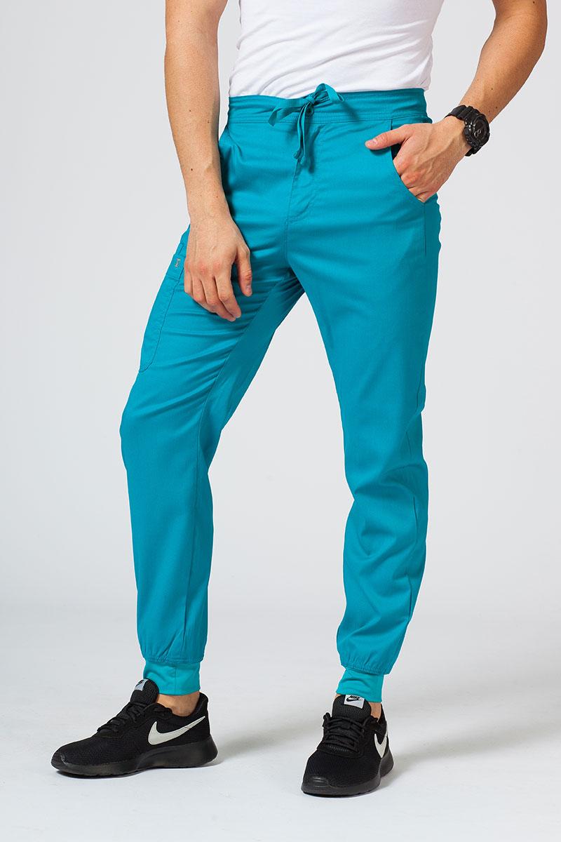 Spodnie męskie Maevn Matrix Men jogger morski błękit