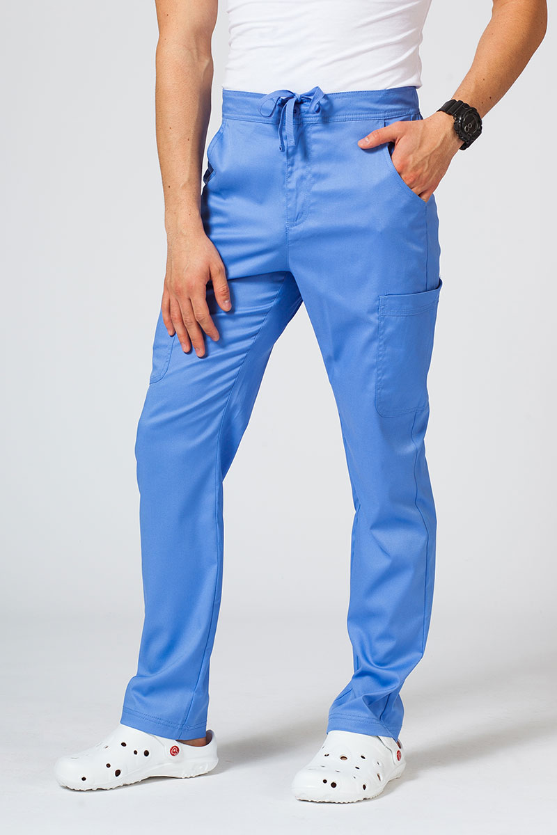 Spodnie męskie Maevn Matrix Men Classic klasyczny błękit