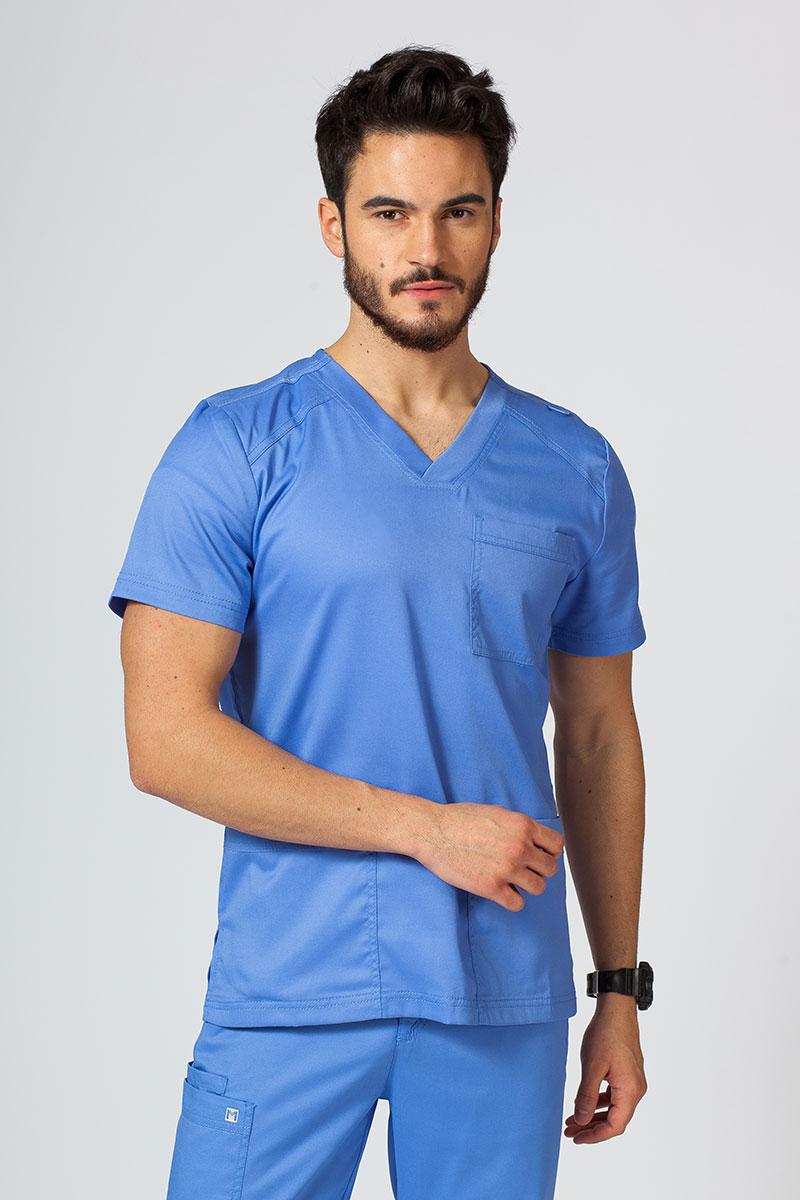 Bluza męska Maevn Matrix Men klasyczny błękit