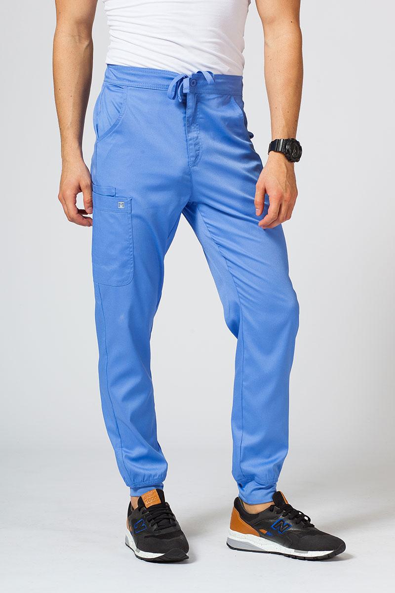 Spodnie męskie Maevn Matrix Men jogger klasyczny błękit