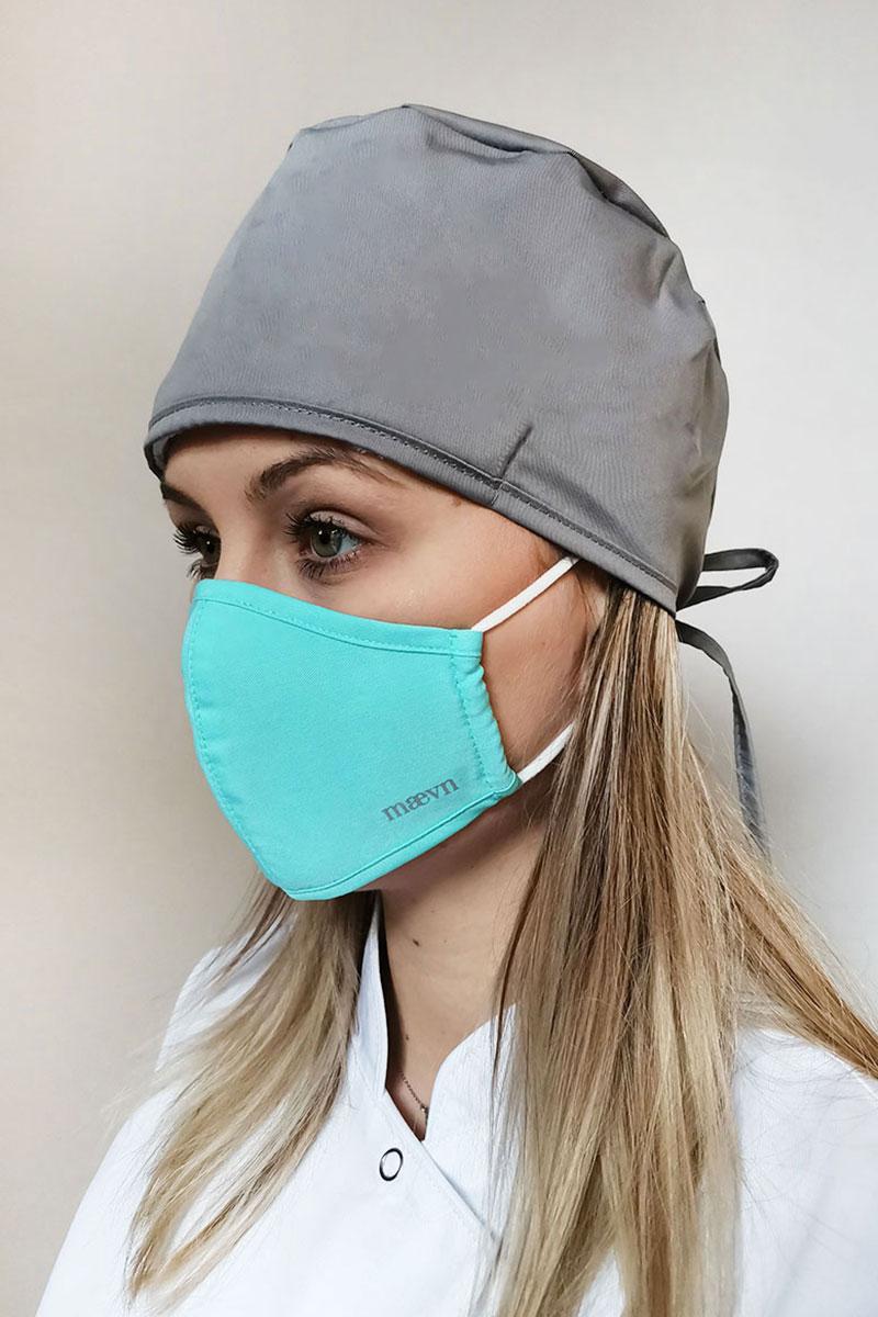 Maska ochronna Maevn, 2-warstwowa (z technologią AGION®), unisex, miętowa