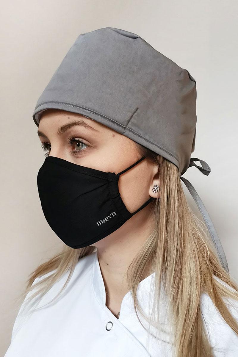 Maska ochronna Maevn, 2-warstwowa (z technologią AGION®), unisex, czarna