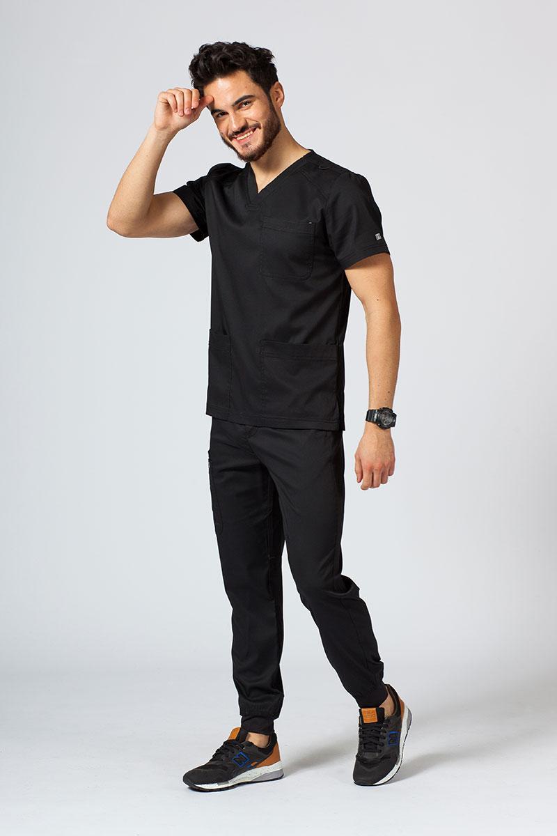 Komplet medyczny męski Maevn Matrix Men Jogger czarny