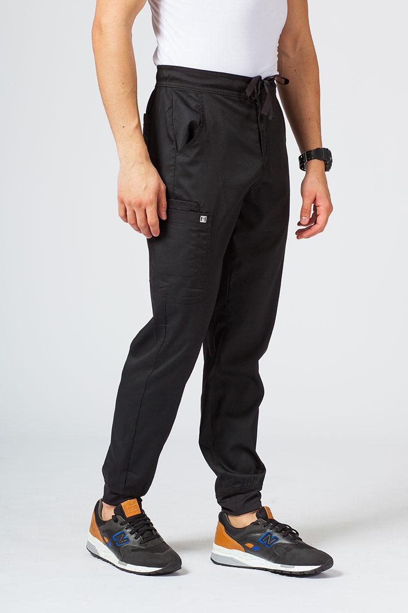 Spodnie męskie Maevn Matrix Men jogger czarne