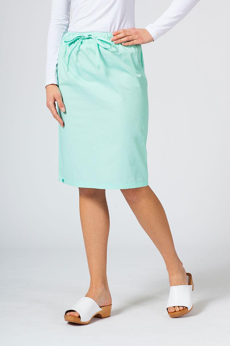 Spódnica medyczna długa Sunrise Uniforms miętowa