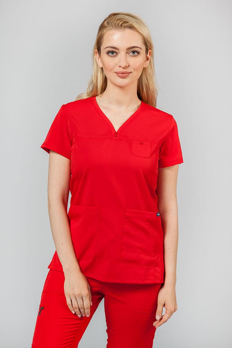 Bluza damska Adar Uniforms Sweetheart czerwona