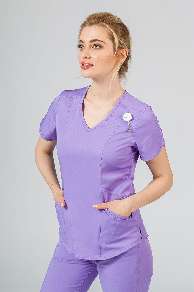 Bluza damska Adar Uniforms Modern lawendowa