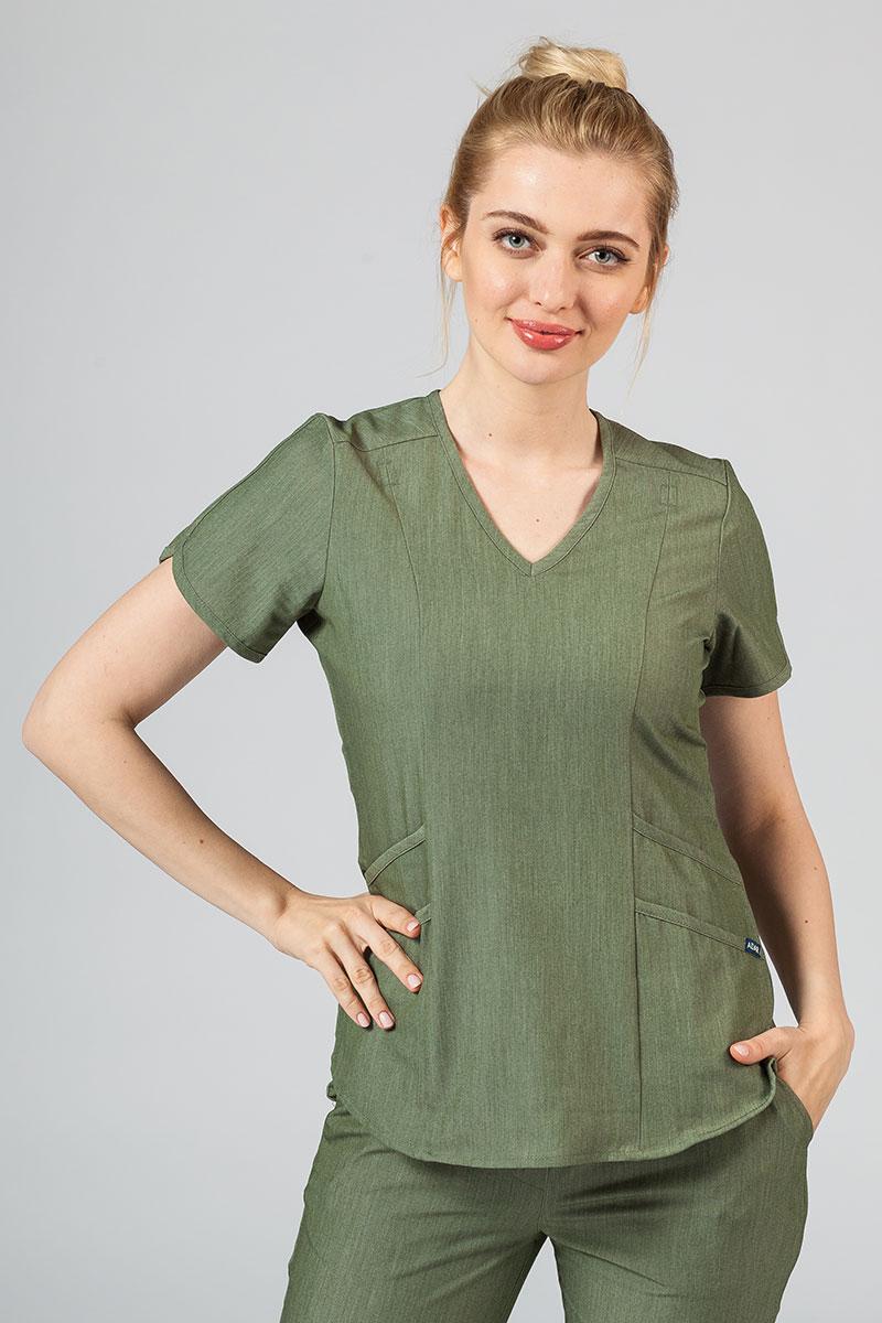 Bluza damska Adar Uniforms Modern oliwkowa