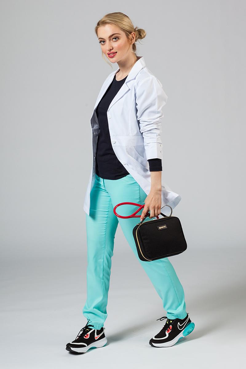 Fartuch medyczny Adar Uniforms Perfection biały