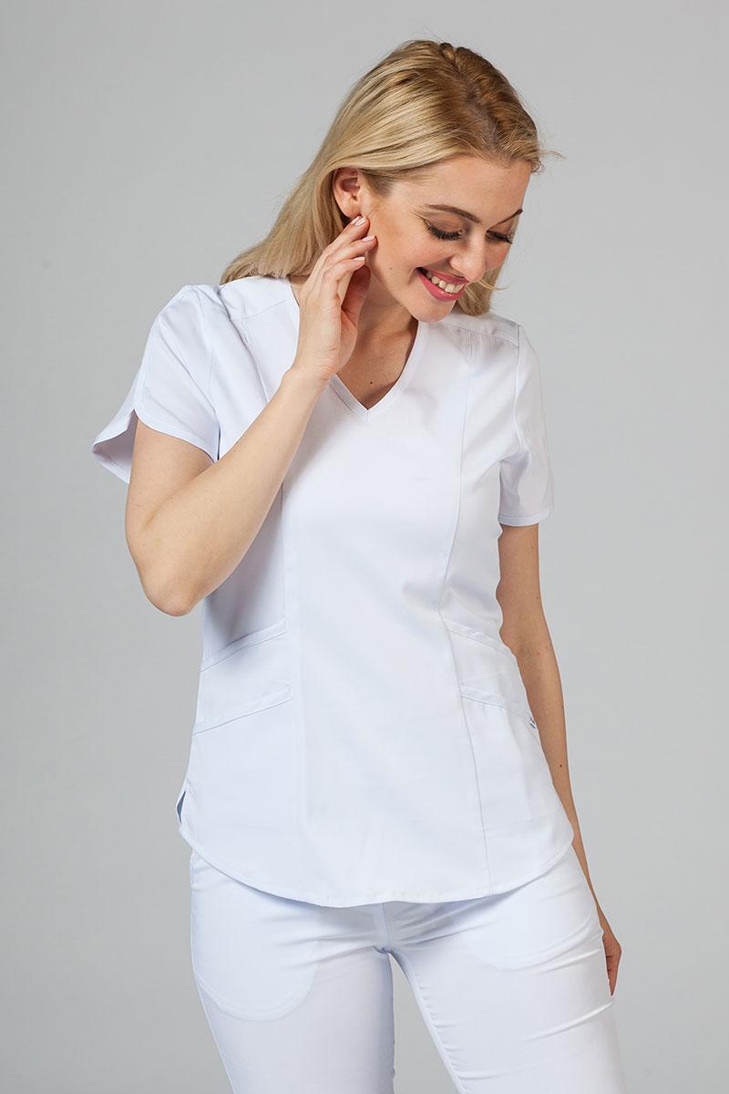 Bluza damska Adar Uniforms Modern biała
