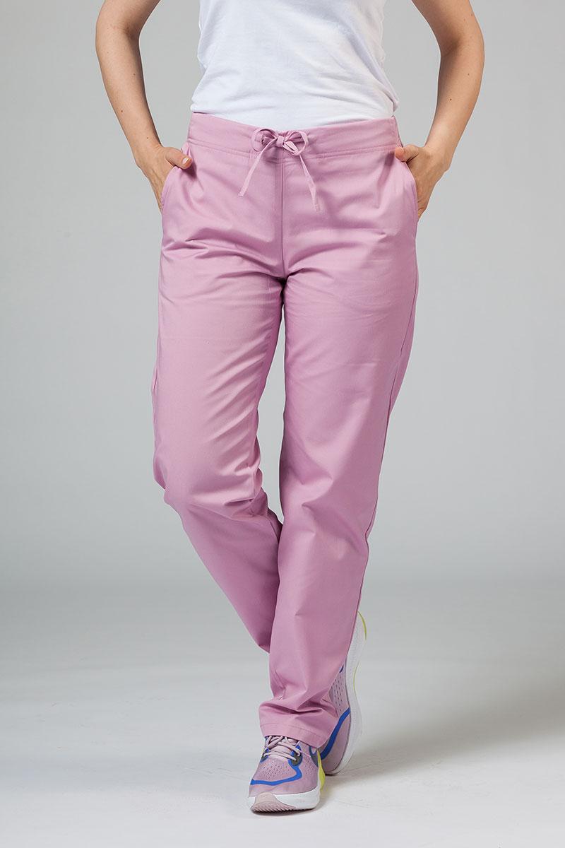 Spodnie medyczne uniwersalne Sunrise Uniforms liliowe