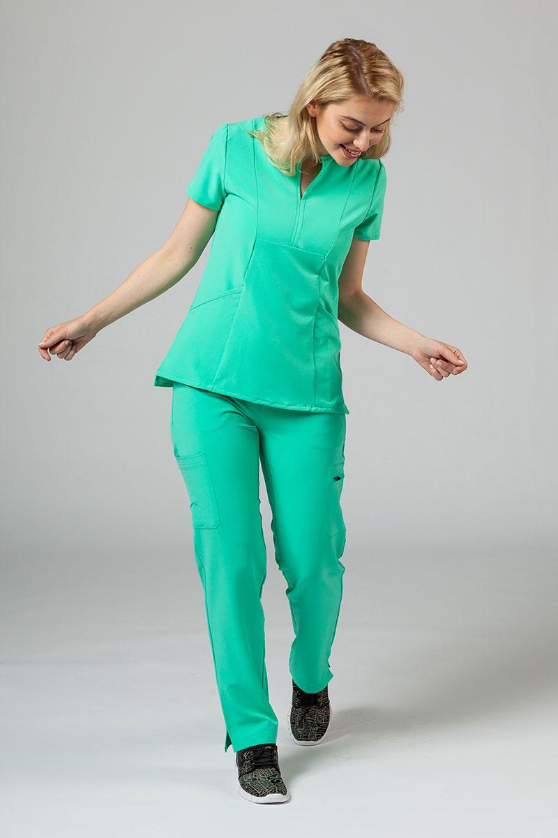 Komplet medyczny Adar Uniforms Cargo jasnozielona (z bluzą Notched - elastic)