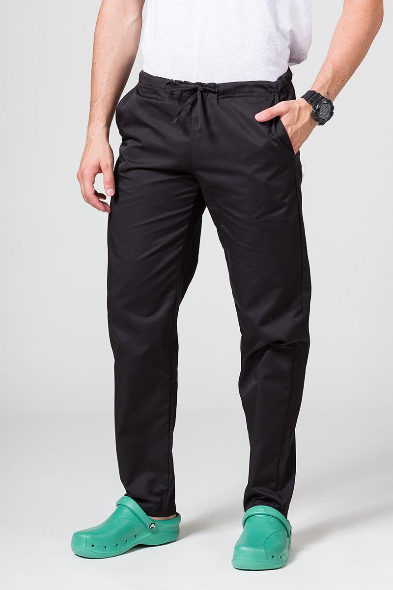 Spodnie medyczne uniwersalne Sunrise Uniforms czarne