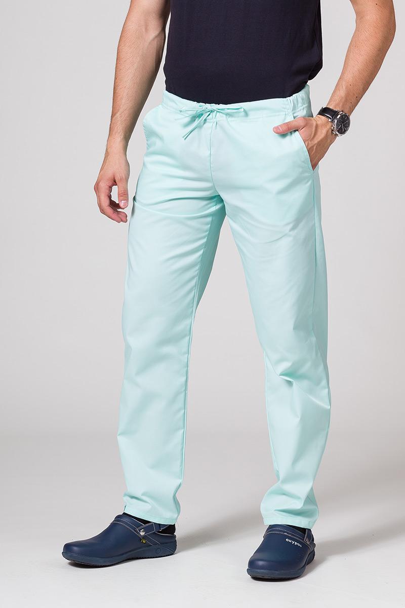 Spodnie medyczne uniwersalne Sunrise Uniforms miętowe