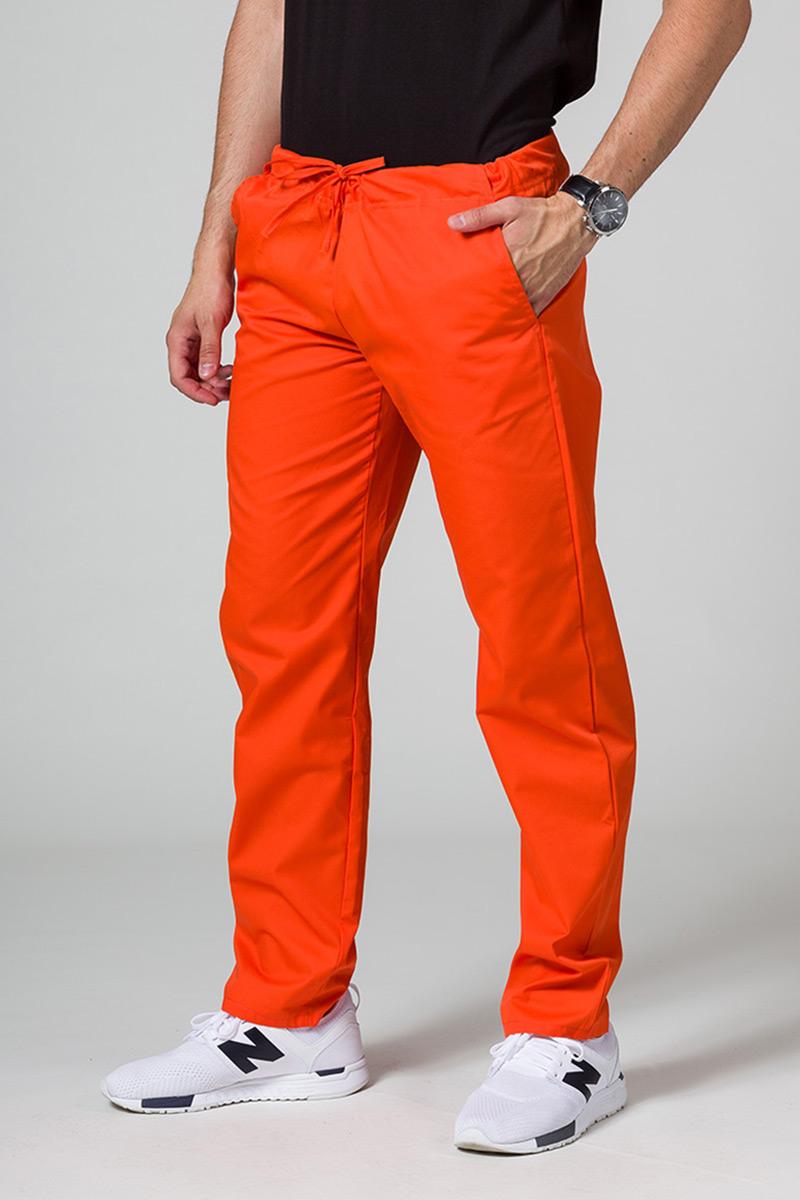Spodnie medyczne uniwersalne Sunrise Uniforms pomarańczowe