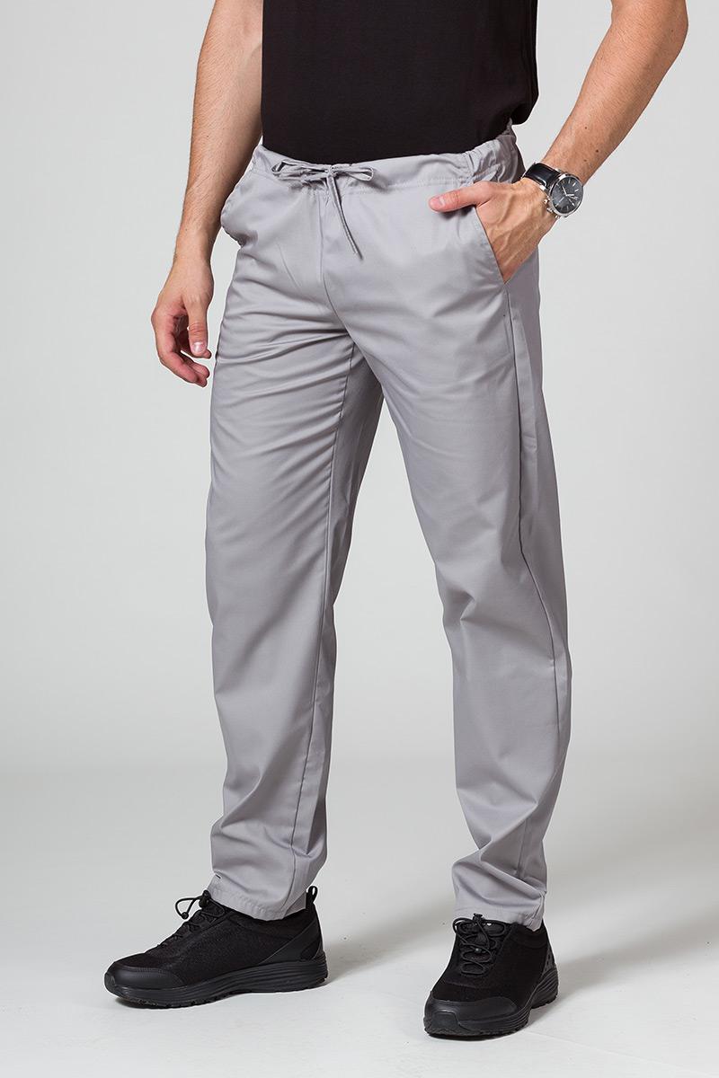 Spodnie medyczne uniwersalne Sunrise Uniforms szare