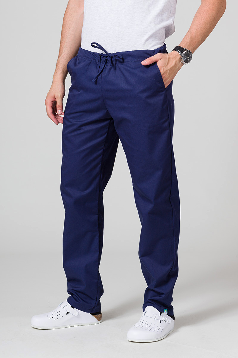 Spodnie medyczne uniwersalne Sunrise Uniforms ciemny granat