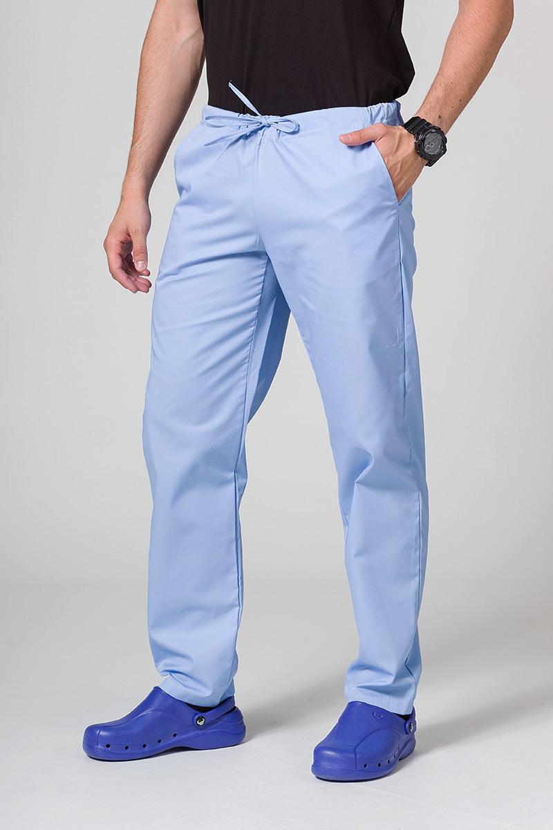 Spodnie medyczne uniwersalne Sunrise Uniforms niebieskie
