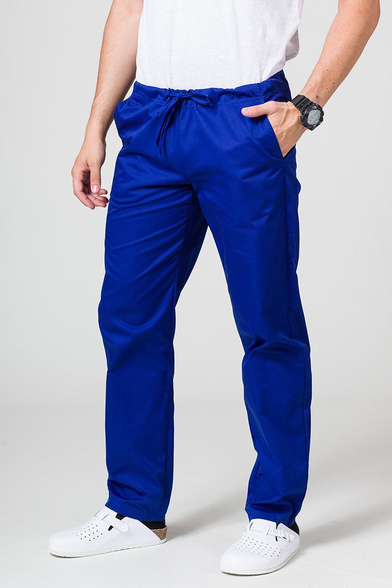Spodnie medyczne uniwersalne Sunrise Uniforms granatowe