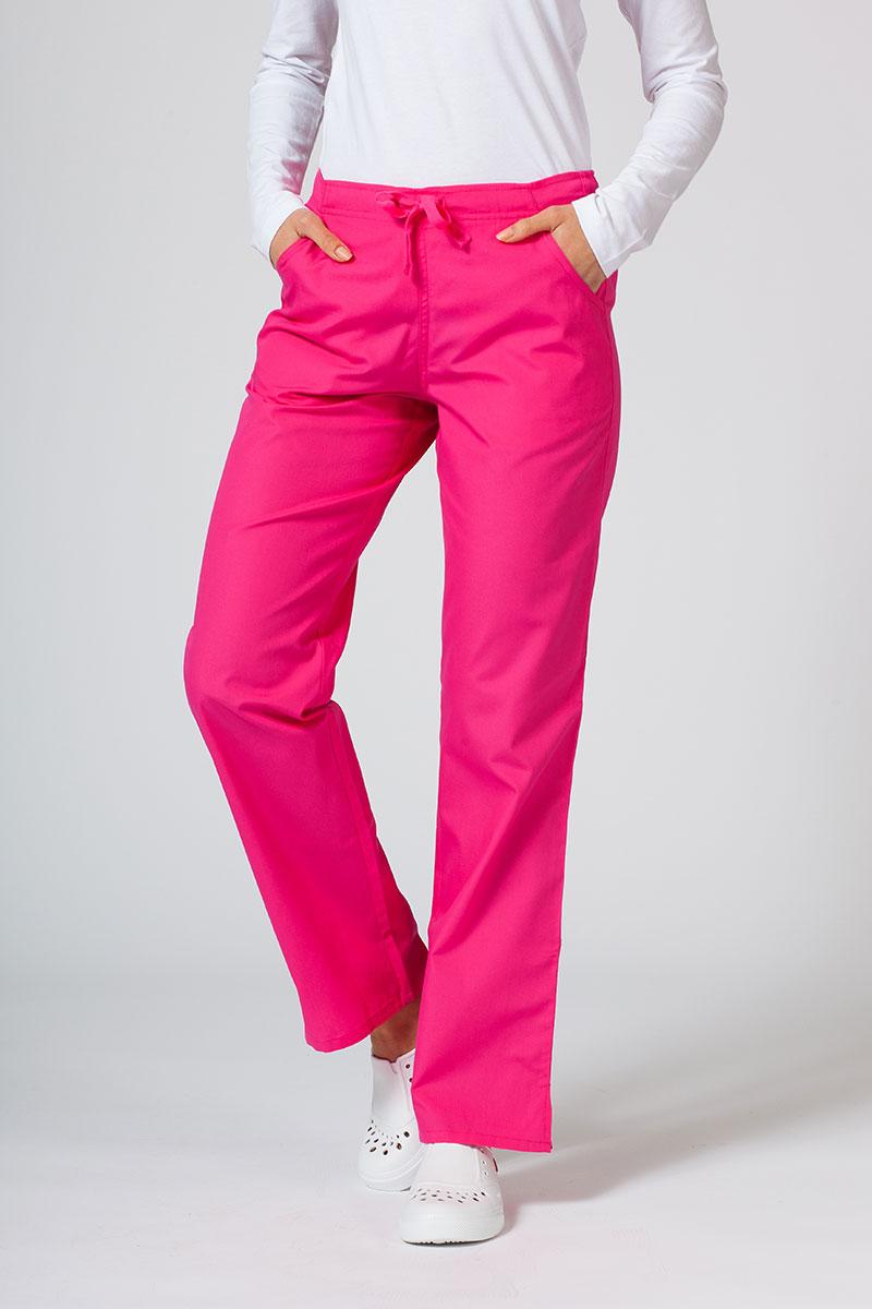 Spodnie damskie Maevn Red Panda różowe