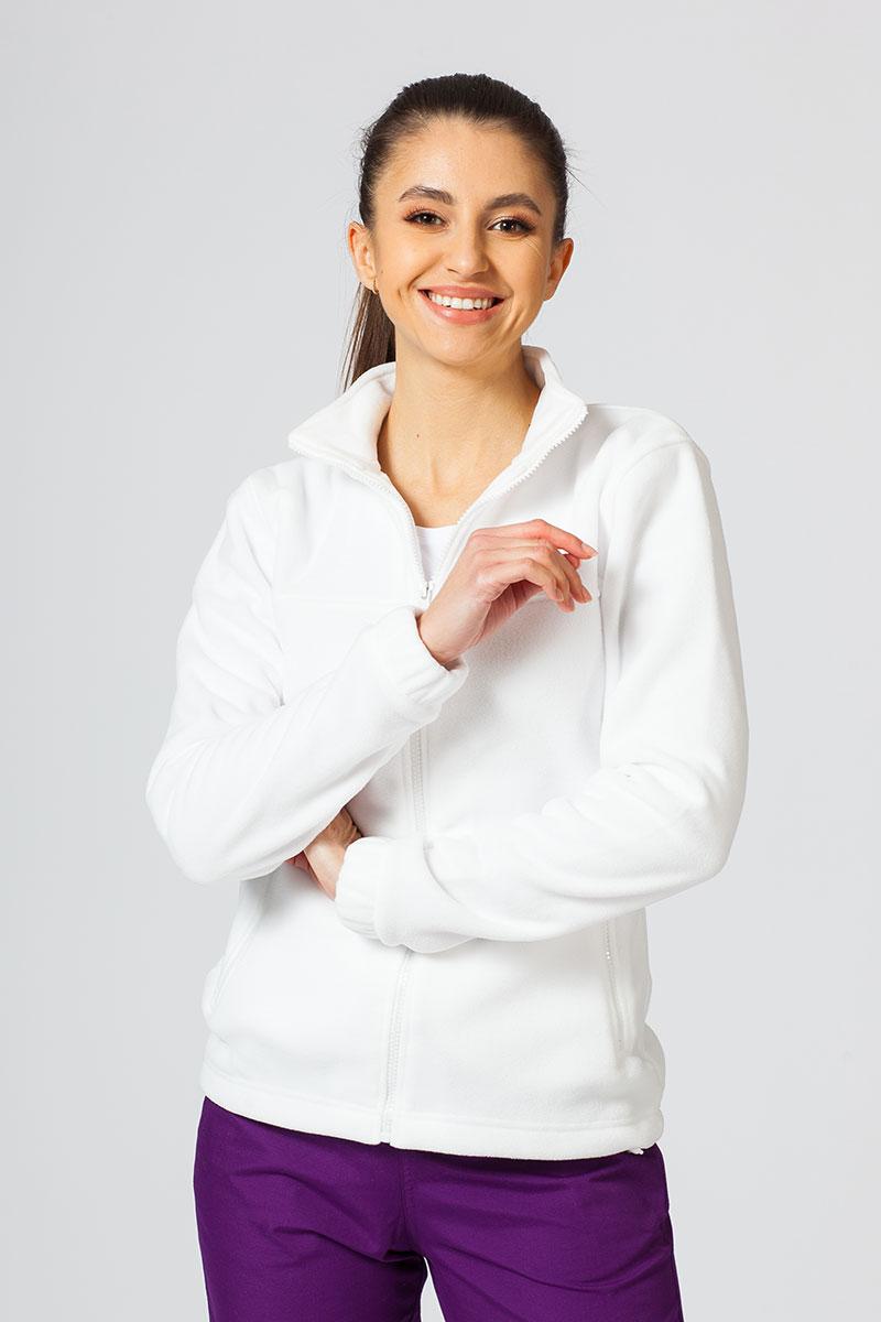 Damska bluza polarowa Malfini biała