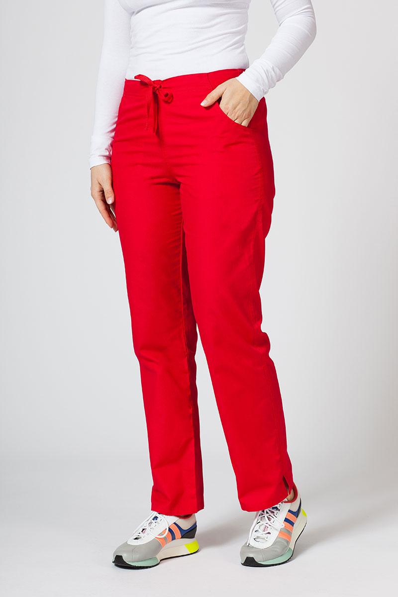 Spodnie damskie Maevn Red Panda czerwone