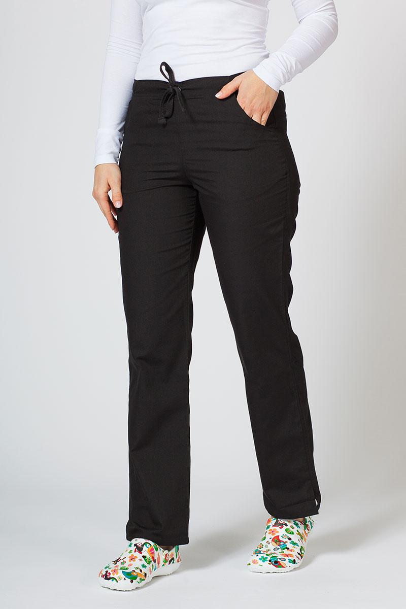 Spodnie damskie Maevn Red Panda czarne