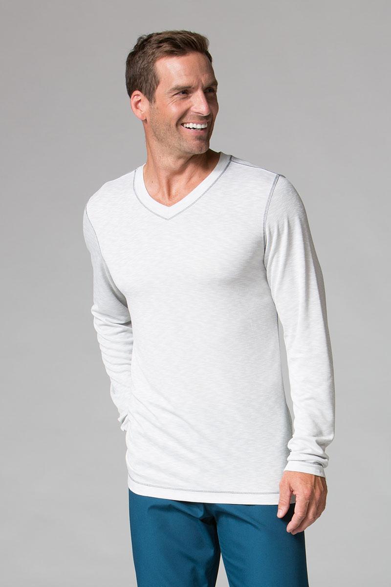 Koszulka męska z długim rękawem Maevn Modal jasnoszara