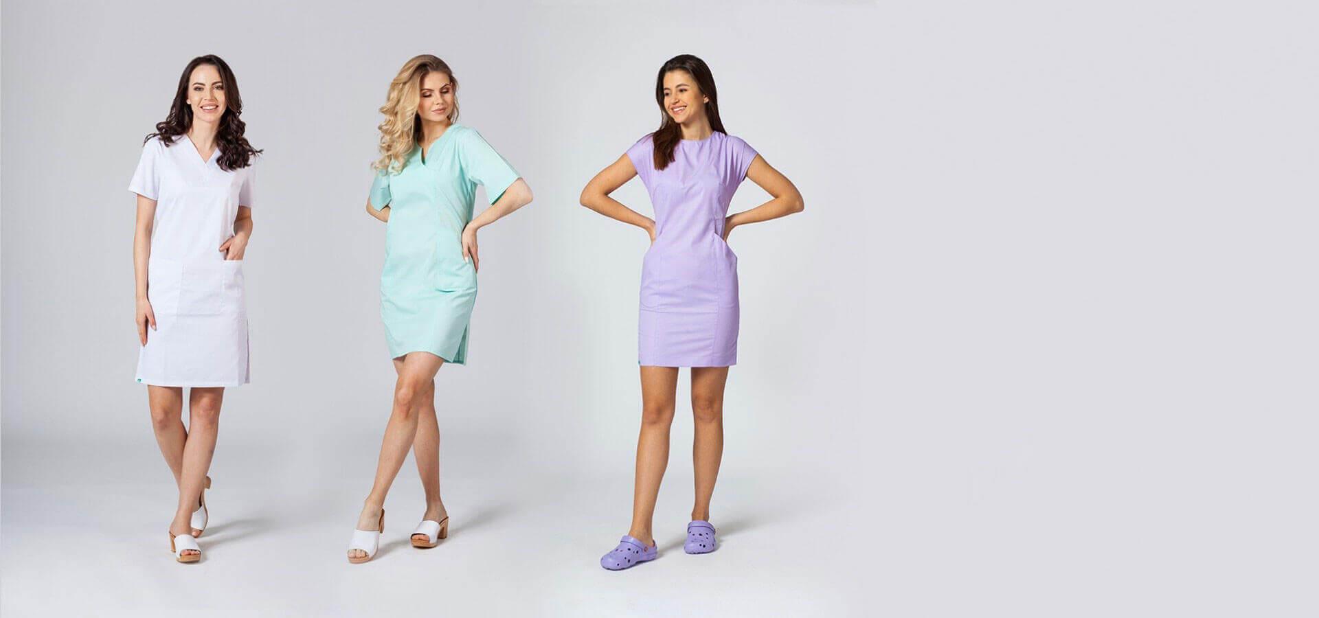 Sukienki medyczne