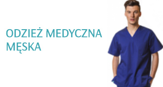 Odzież medyczna męska